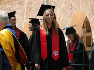 Christina's 2012 Stanford graduation
