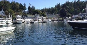 Roche Harbor marina, inn and shops.