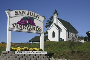 San Juan Vinyards.  Chapel used for weddings.