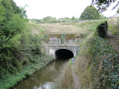 First of three Baye canal boat tunnels