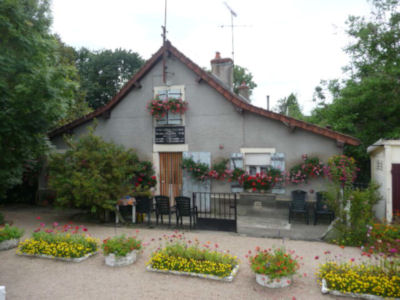 Typical lock-keeper's house