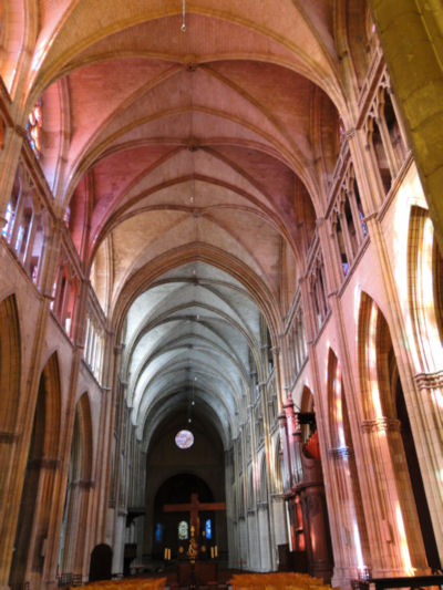 Nevers St. Cyr cathedral