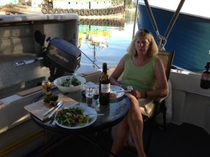 Dinner in Eagle Harbor