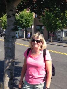 Jill in Olympia