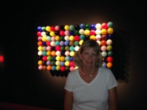 Jill at Tacoma Glass Museum