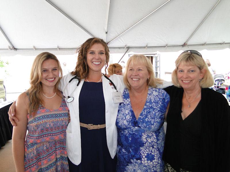 Lindsay, Christina, Karen and Jill