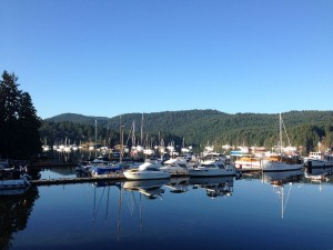 Beautiful early morning on Brentwood Bay