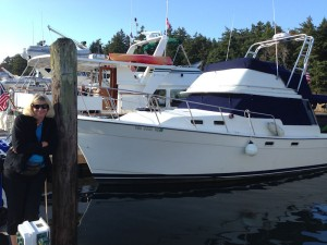 Jill dockside at Roche Harbor
