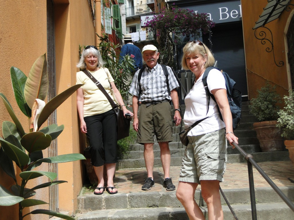 Wandering about Voillefranche-sur-mer