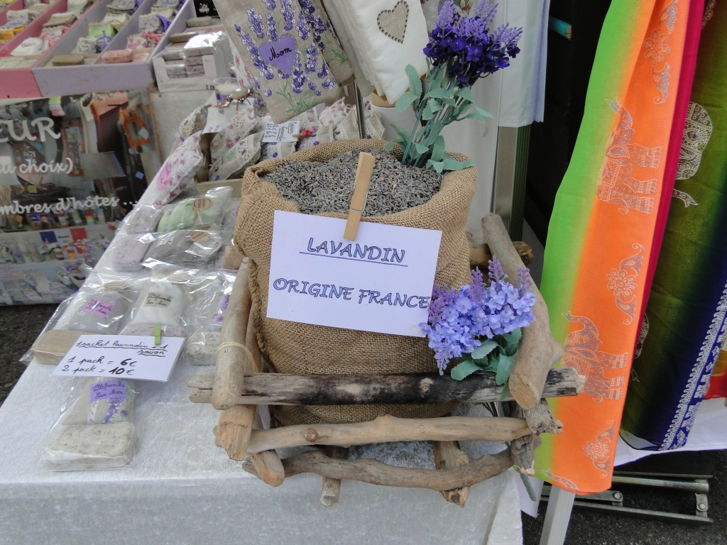 Lavender at the local market