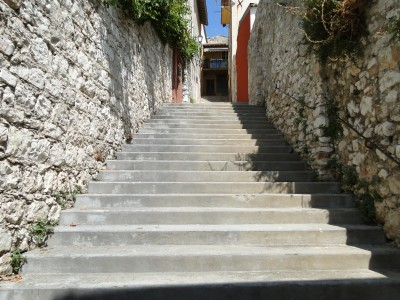 My workout stairs