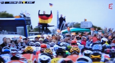 Tour de France Stage 2 on TV