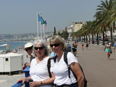 On the Promenade des Anglais