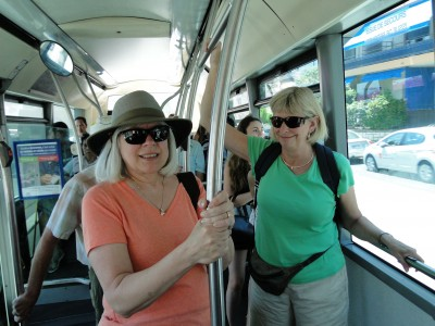 On the bus to Saint-Jean-Cap-Ferrat
