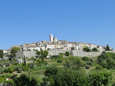 Walled city of Saint Paul de Vence