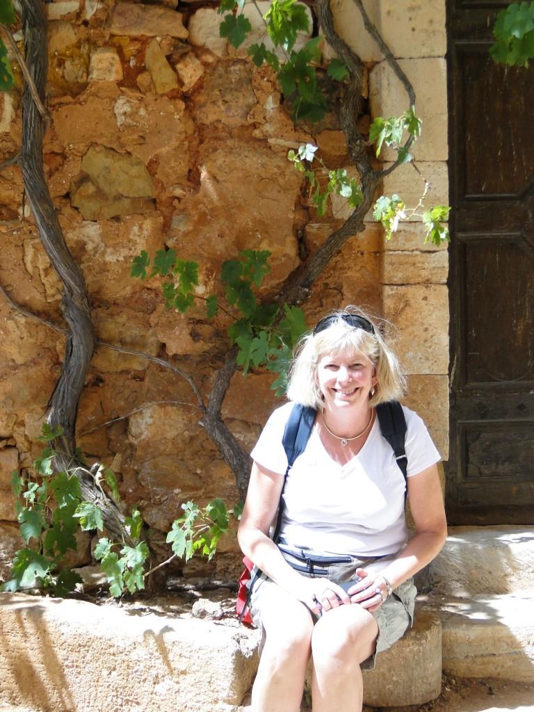 Jill in Roussillon