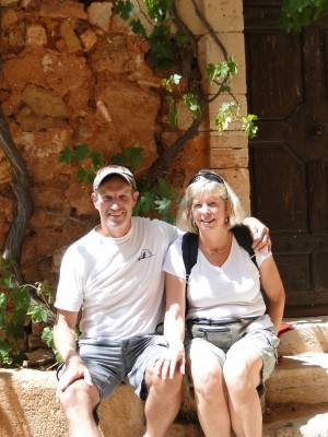 Jill Lehman and Henry Warner in Roussillon