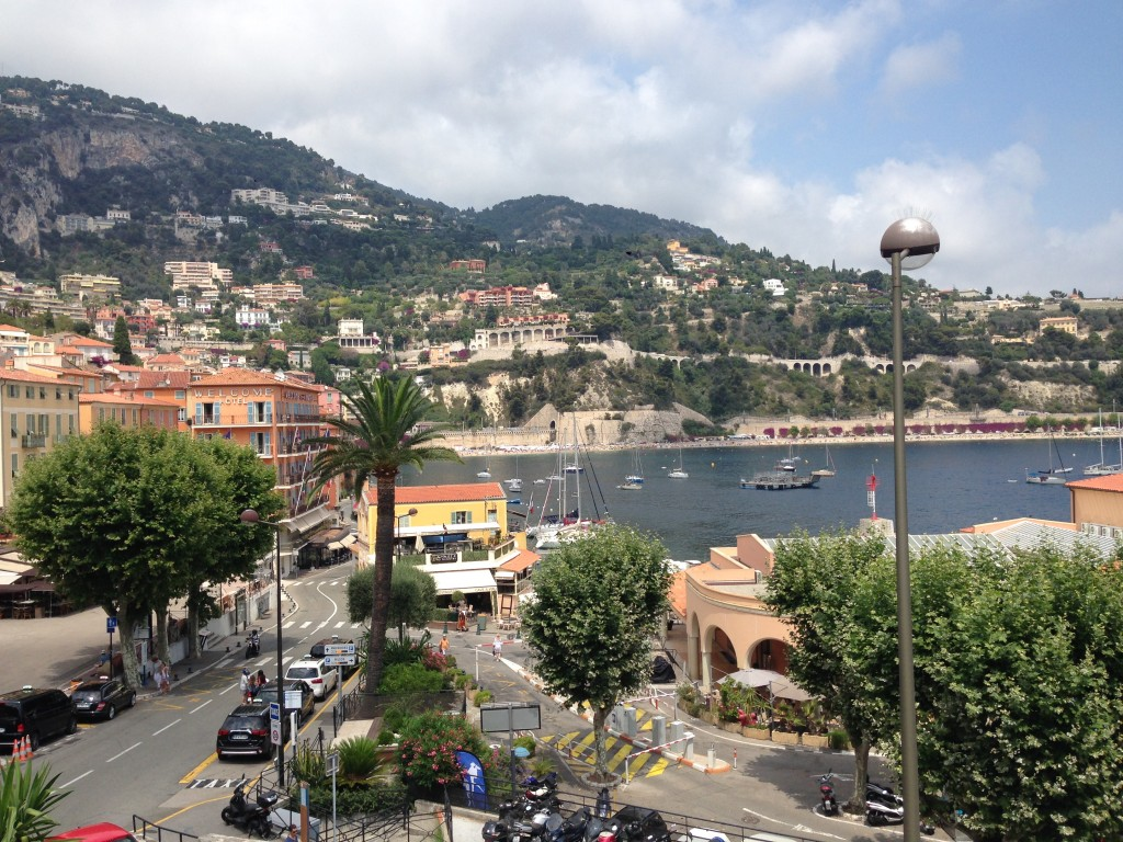 View of Villefranche from the citadel