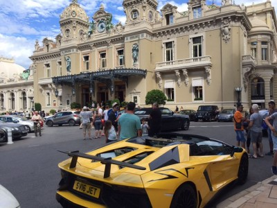 Casino de Monte-Carlo.  Not recommended that you drive up in your Corolla.