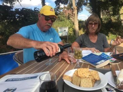 Happy Hour at Port La Robine