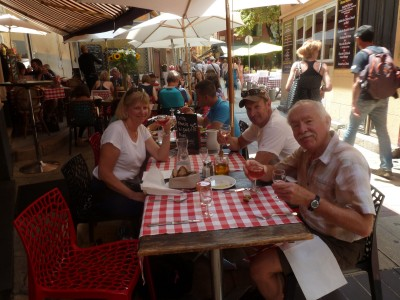 Lunch in Nice