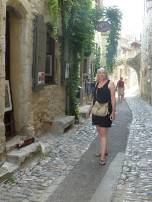 Dawn Davis in Vaison-la-Romaine