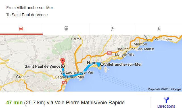 Saint Paul de Vence (Day 18) | Henry Warner – My Blog on st. paul hotels map, saint paul de vence tourism, barra de navidad mexico map, saint remy de provence map, city of saint paul map, saint jean cap ferrat map,